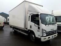 ISUZU TRUCKS FORWARD N75.190 AUTO 20ft grp box van very low klms