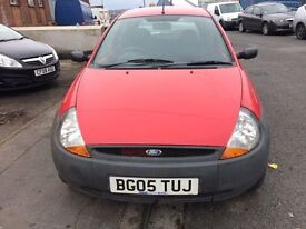 FORD KA 1.3 3 DOOR HATCHBACK 2005 MOT AUGUST 2017