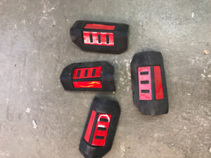John Deere dump box tail light Relectors
