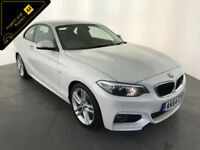 2014 64 BMW 220D M SPORT COUPE DIESEL 1 OWNER SERVICE HISTORY FINANCE PX WELCOME
