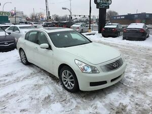 Infiniti G35 Sedan Luxury AWD-CUIR-TOIT-JAMAIS ACCIDENTER 2007