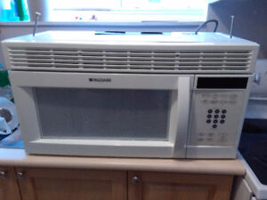 Microwave with hode