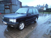 1997 Land Rover Range Rover 4.0 Auto V8 SE P38