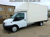 2013 63-REG FORD TRANSIT LWB LUTON, BIG 125-BHP, F.S.H. ## TAIL LIFT ## 1 OWNER