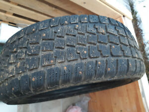 Winter studded tires for sale