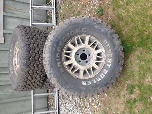 Mud tires