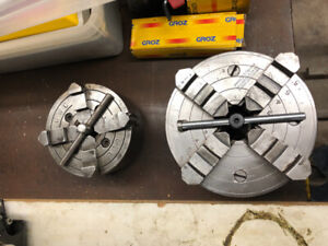 "4 jaw lathe chucks for south bend 9"" and Atlas 10f"