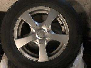 Subaru Outback Winter Tires on Rims
