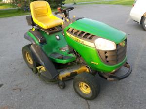 Ride oo lawnmower