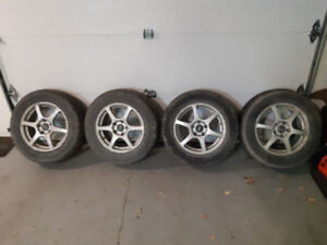 Wheels and tires (Summer) 215/65/16   200$