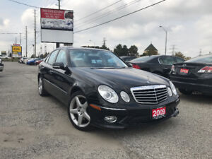 2009 Mercedes-Benz E 350 Avantgarde Edition, Clean Carproof