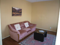 Bright, Partially Furnished 2-Bed. Apartment in Central Moncton