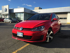 2015 Volkswagen GTI Loaded + Leather + Nav