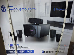Professional Home Theater System New In Box Not Opened