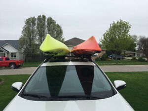 Yakima rack system for kayaks or anything