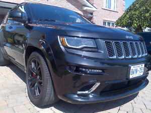 2014 BLACK JEEP GRAND CHEROKEE SRT 6.4L HEMI HST INCLUDED!!!