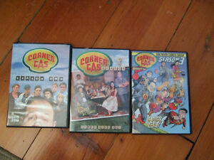 Corner Gas DVDs- Seasons 1,2,3 - all for $20