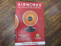 Airworks Radiant Fan Heater - only used once