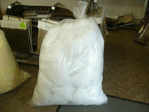 BAGS OF BATTING & CHIP FOAM