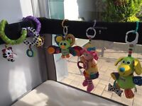 Lamaze toys and musical toy