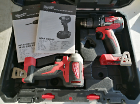 £299 Milwaukee Drill & Impact M18 Combo Kit for £150*