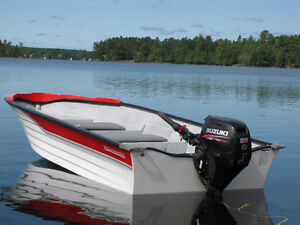 14ft fiberglass fisherman 20hp Suzuki Fourstroke