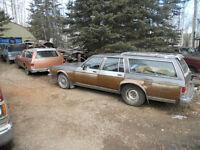 1982 & 1987 Oldsmobile Delta 88 Custom Cruiser SW