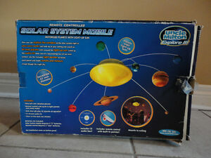 Solar system educational model toy kit London Ontario image 2