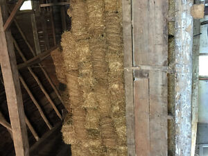Small straw square bales