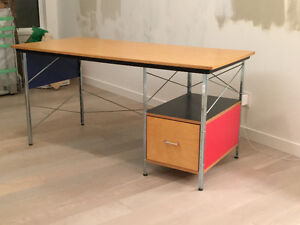 Classic  Eames Desk with Cert. of Authenticity