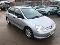 Honda Civic 1.6i VTEC S - 2003 - JAN 19 MOT -