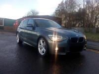 "BMW 1 SERIES 2.0 116d M Sport 5 DOOR SPORTS HATCH 2013 ""63"" REG 54,000 MILES FSH"