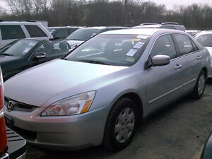 2005 HONDA ACCORD LX, AUTO, 1 OWNER  / CERTIFIED