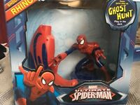 "Spider-Man ""ghost hunt"" game"
