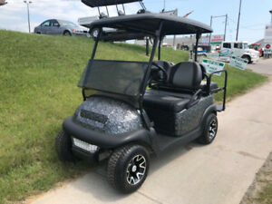 2004 Club Car Precedent Gas w Custom Hydro Dip Body