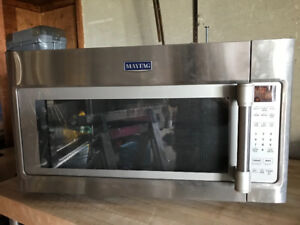 Over The Range Microwave 1.9 cu. ft. - Stainless Steel  Maytag