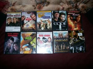 10 ASSORTED DVD MOVIES                               FOR SALE