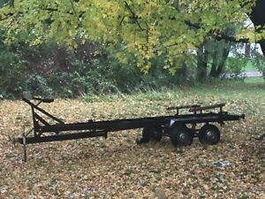 Tandem boat trailer ( or convert for your own purpose )