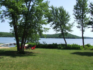 Muskoka Buck lake ~Paddle North Private Lakefront Cottage Rental