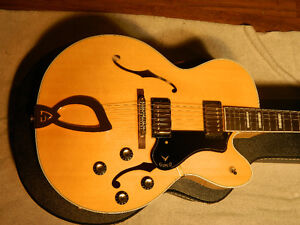 Guild GSR X-180 #11 of 20 Made in USA Arch Top Jazz Archtop
