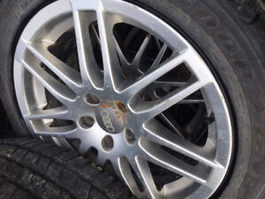 Audi 17 Inch All Season Tires With Rims 225/45R17
