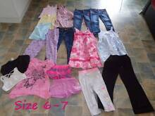 Bulk Lot Of Girls Childrens Clothes Sizes 6-8 (Mostly 8's) Eagleby Logan Area Preview