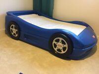 Little tikes kids car bed