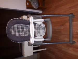 Safety first highchair with removable cusion - $60