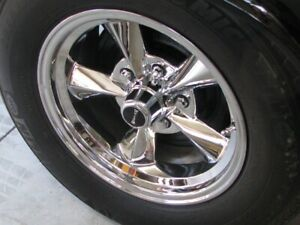Michelin Tire on Ridler Rims