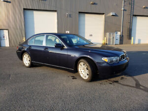 BMW 745i 2003 - 130km - Selling or winter storage