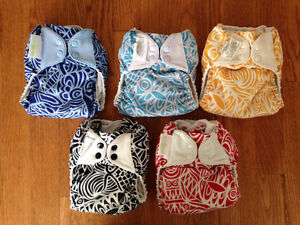 Cloth Diapers- BumGenius Tiny Socialite Collection