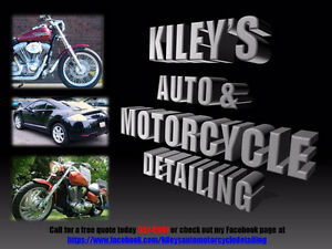 Kiley's Auto and Motorcycle Detailing