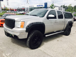 2007 GMC SIERRA 1500 LIFTED EXTENDED CAB LEATHER SEATS COLD AIR