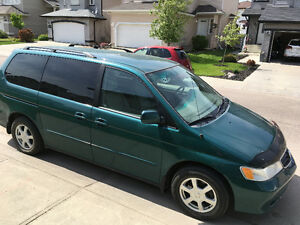 2002 Honda Odyssey EX Minivan,with extra set wheels/winter tires